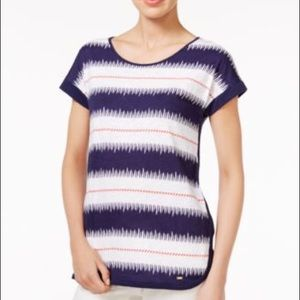 NEW TOMMY HILFIGER all cotton t shirt navy S or M